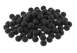 Rubber and metal balls 10 mm / 100pcs