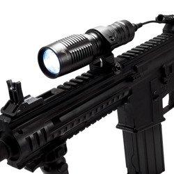 Zoom Flashlight with mount