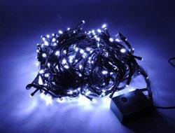 Lampki choinkowe LED 300 białe ZK Ł