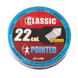Pellet Classic Pointed 5,5 mm 250 szt.