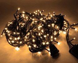 Lampki choinkowe LED 300 białe ciepłe ZK Ł