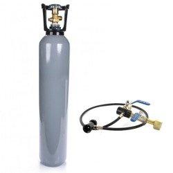 Butla z CO2 6kg (8L) z syfonem (pełna) + Przetoczka CO2 deluxe!