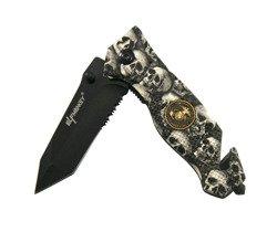 Nóż składany Elf Monkey Eagle Skull