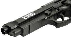 Zestaw pistolet Cybergun Swiss Arms PT92 4,46 mm